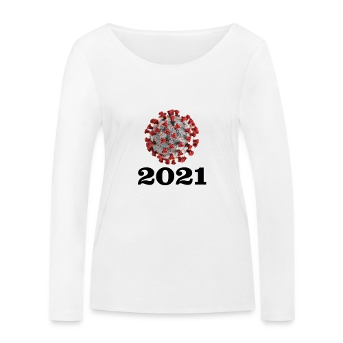 Virus 2021 - Frauen Bio-Langarmshirt von Stanley & Stella