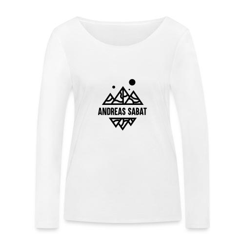 sabat logo black - Økologisk Stanley & Stella langærmet T-shirt til damer