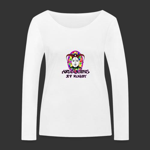Arlequins Beauvais - T-shirt manches longues bio Stanley & Stella Femme