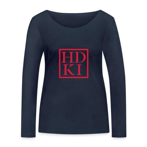 HDKI logo - Women's Organic Longsleeve Shirt by Stanley & Stella