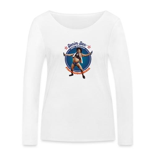 Denim Dan - Ekologisk långärmad T-shirt dam från Stanley & Stella