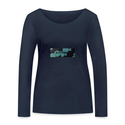 Extinct box logo - Women's Organic Longsleeve Shirt by Stanley & Stella