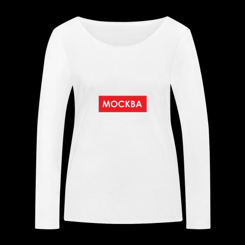 Moskau - Utoka - Frauen Bio-Langarmshirt von Stanley & Stella