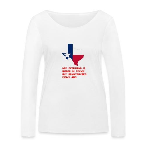 TEXAS MERCH - Women's Organic Longsleeve Shirt by Stanley & Stella