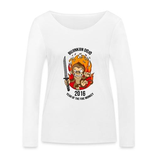 Fire monkey - Women's Organic Longsleeve Shirt by Stanley & Stella