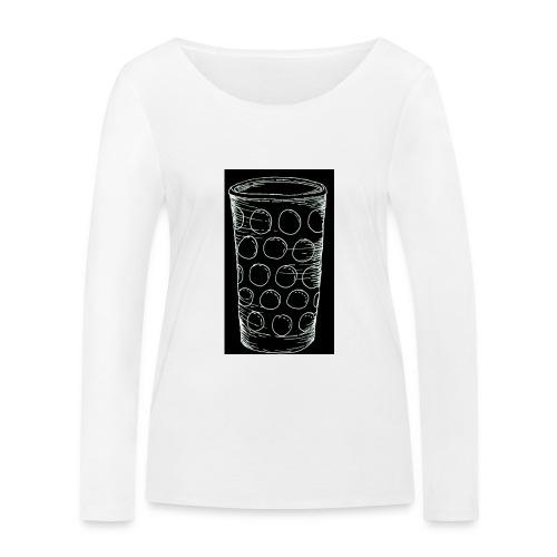 Leergut Dubbeglas -schwarz - Frauen Bio-Langarmshirt von Stanley & Stella
