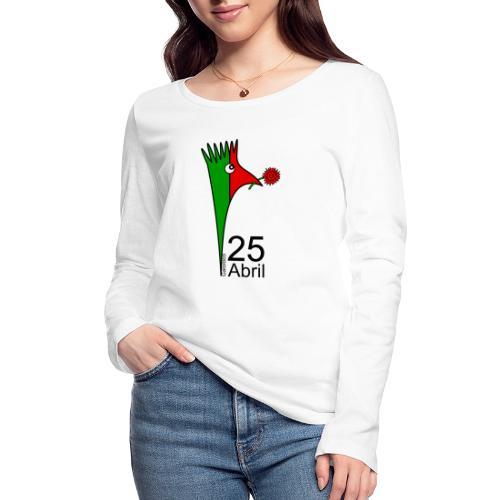 Galoloco - 25 Abril - T-shirt manches longues bio Stanley & Stella Femme