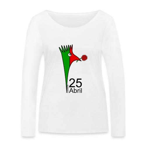 Galoloco - 25 Abril - Women's Organic Longsleeve Shirt by Stanley & Stella