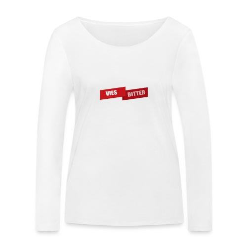 Vies Bitter - Vrouwen bio shirt met lange mouwen van Stanley & Stella