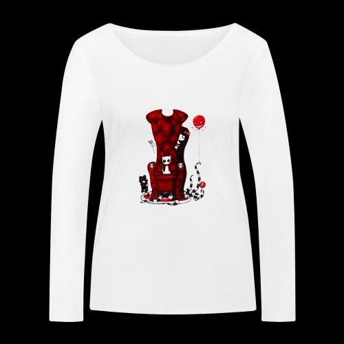 Cruelle petite fille - T-shirt manches longues bio Stanley & Stella Femme