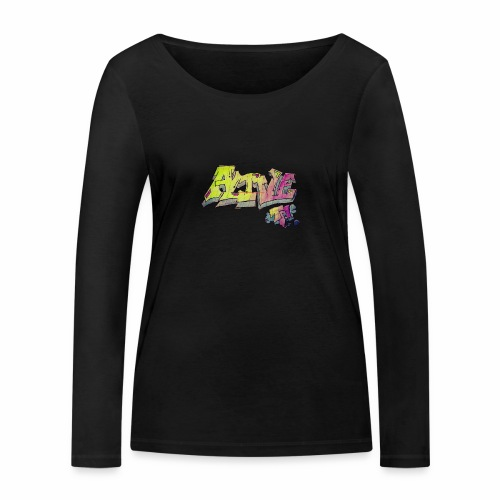 ALIVE TM Collab - Women's Organic Longsleeve Shirt by Stanley & Stella