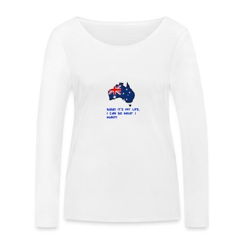 AUSTRALIAN MERCH - Women's Organic Longsleeve Shirt by Stanley & Stella