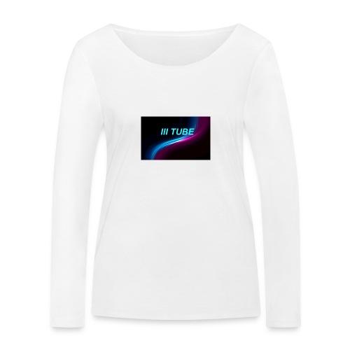 logo - Vrouwen bio shirt met lange mouwen van Stanley & Stella