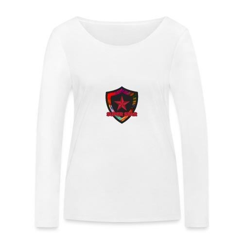 Super Star Design: Feel Special! - Women's Organic Longsleeve Shirt by Stanley & Stella