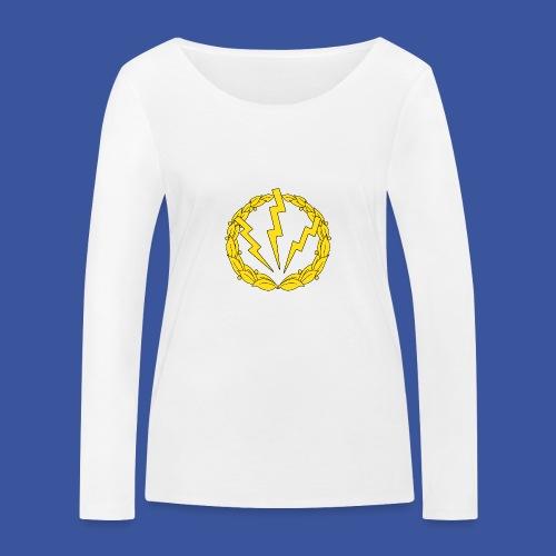 RLC Stor logotype - Ekologisk långärmad T-shirt dam från Stanley & Stella