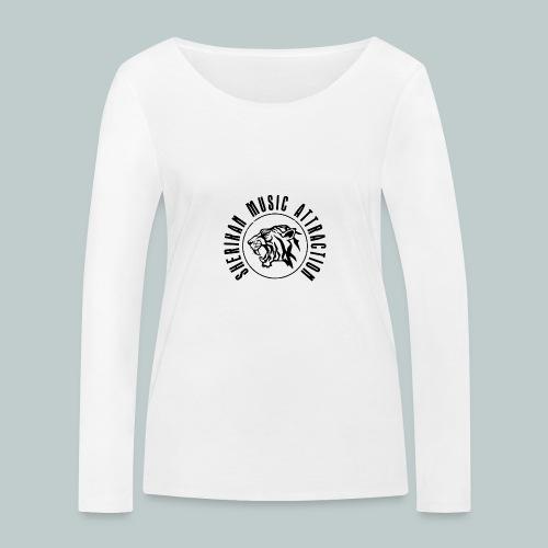 Sherikan Logo - Ekologisk långärmad T-shirt dam från Stanley & Stella