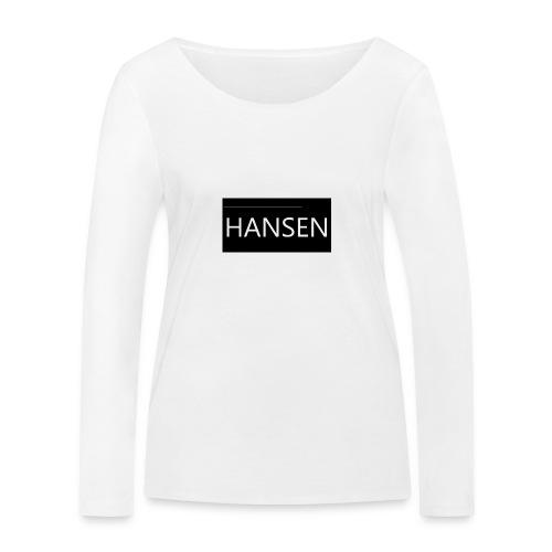 HANSENLOGO - Økologisk Stanley & Stella langærmet T-shirt til damer