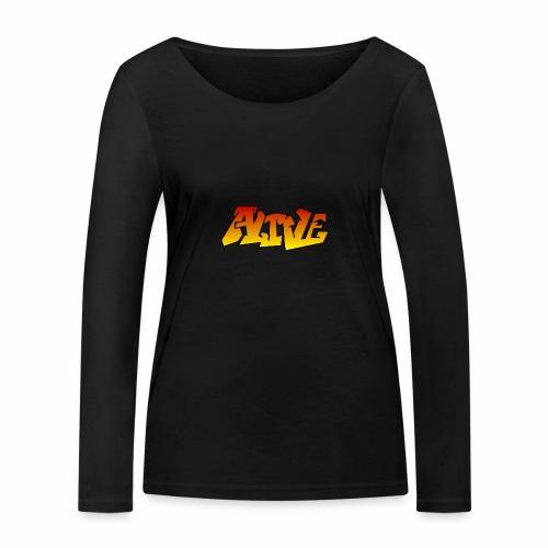 ALIVE CGI - Women's Organic Longsleeve Shirt by Stanley & Stella