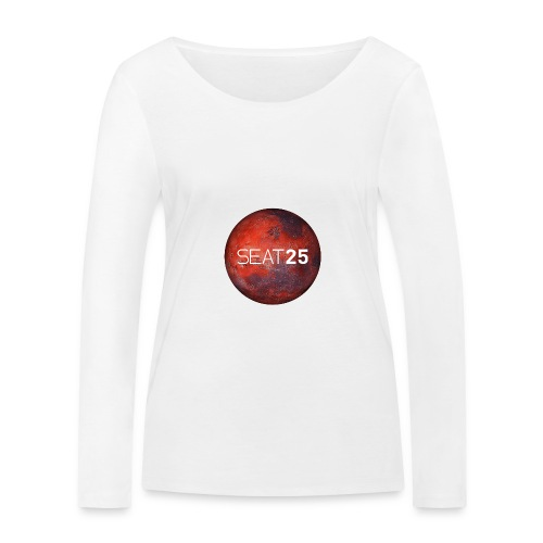 Mars and Logo - Women's Organic Longsleeve Shirt by Stanley & Stella