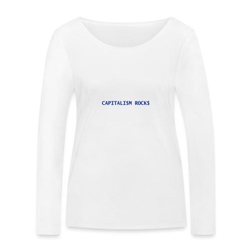 CAPITALISM ROCKS - Maglietta a manica lunga ecologica da donna di Stanley & Stella