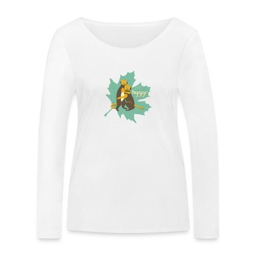 Erdmännchen Herbstfreunde Umarmung - Let's hygge - Frauen Bio-Langarmshirt von Stanley & Stella