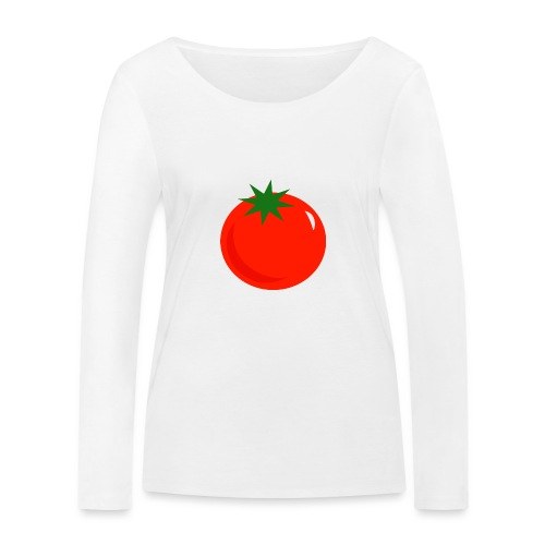 Tomate - Camiseta de manga larga ecológica mujer de Stanley & Stella