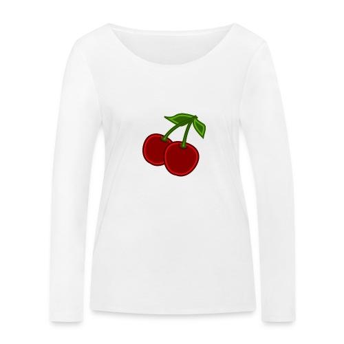 cherry - Ekologiczna koszulka damska z długim rękawem Stanley & Stella