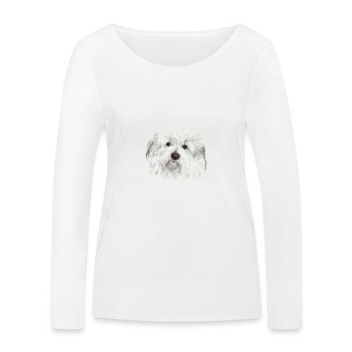 coton-de-tulear - Økologisk Stanley & Stella langærmet T-shirt til damer