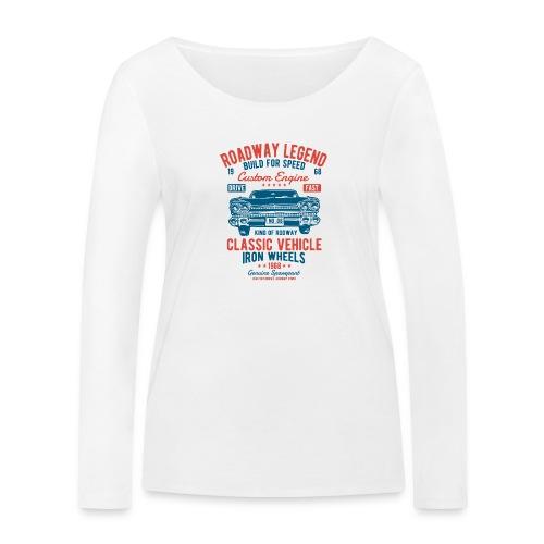 Roadway Legend - Vrouwen bio shirt met lange mouwen van Stanley & Stella