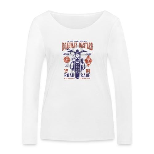 Roadway Bastard - Vrouwen bio shirt met lange mouwen van Stanley & Stella