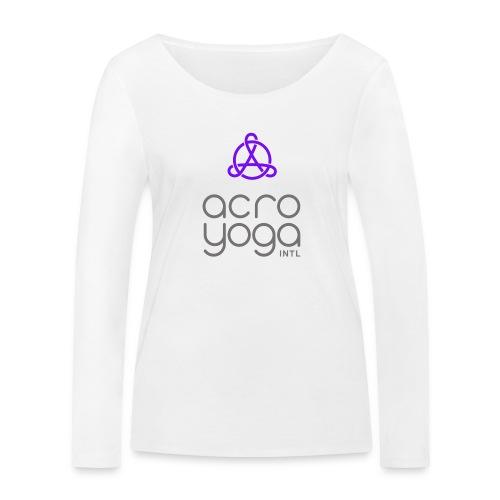 AcroYoga International Logo - Women's Organic Longsleeve Shirt by Stanley & Stella