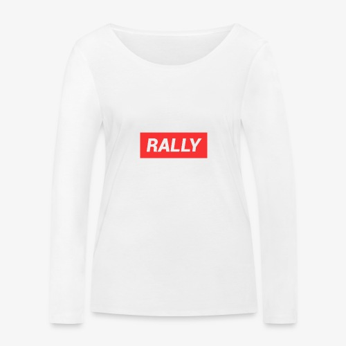Rally classic red - Ekologisk långärmad T-shirt dam från Stanley & Stella