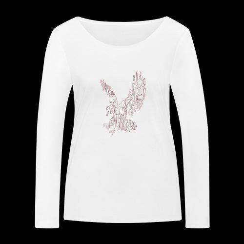Eagle circuit - Økologisk Stanley & Stella langærmet T-shirt til damer