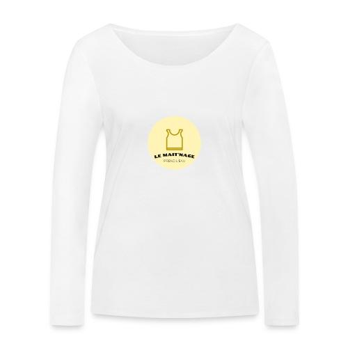 le Mait'Nage prend l'eau - T-shirt manches longues bio Stanley & Stella Femme