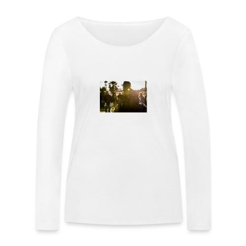 Shaka saxo - T-shirt manches longues bio Stanley & Stella Femme