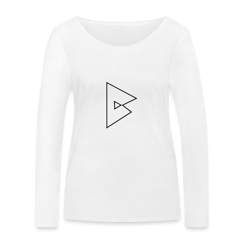 dstrbng official logo - Women's Organic Longsleeve Shirt by Stanley & Stella