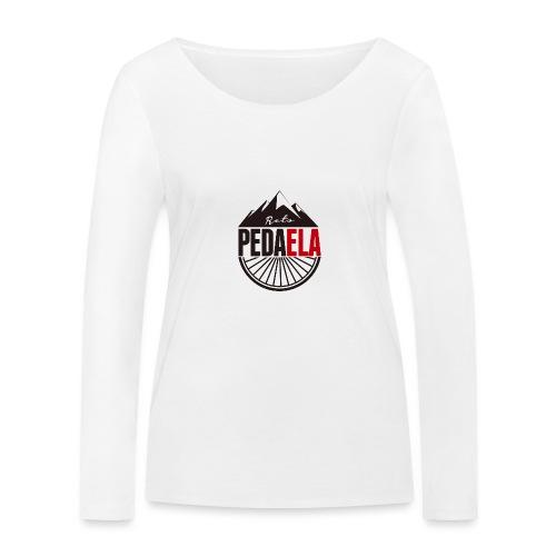 PEDAELA - Camiseta de manga larga ecológica mujer de Stanley & Stella