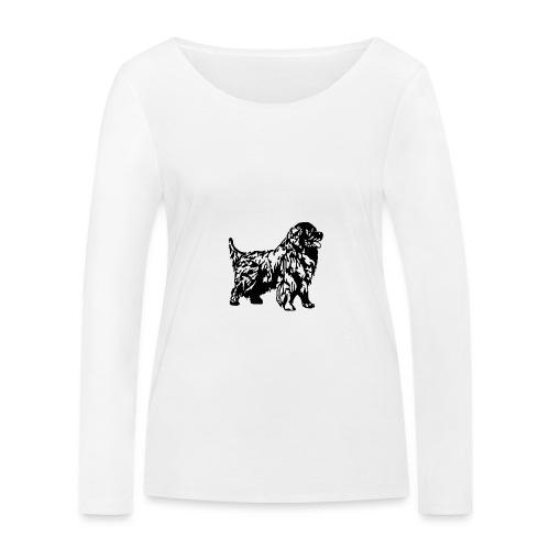 Neufundländer - Frauen Bio-Langarmshirt von Stanley & Stella
