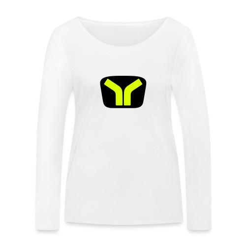 Yugo logo colored design - Women's Organic Longsleeve Shirt by Stanley & Stella