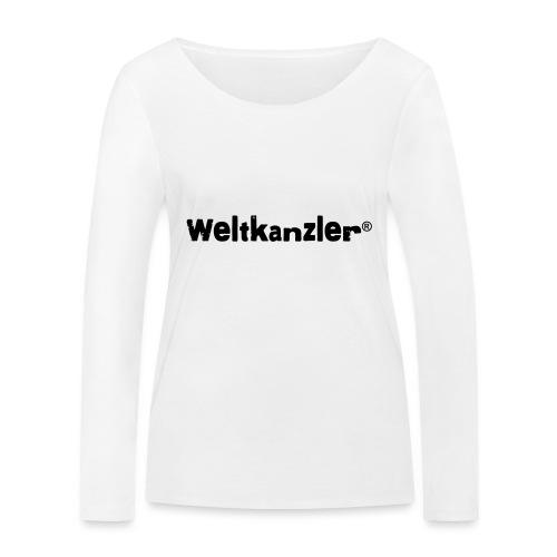 Weltkanzler® Männer Vintage T-Shirt - Frauen Bio-Langarmshirt von Stanley & Stella