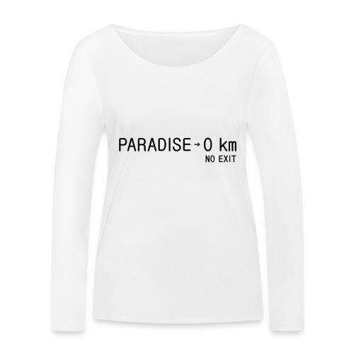 paradise0km - Frauen Bio-Langarmshirt von Stanley & Stella