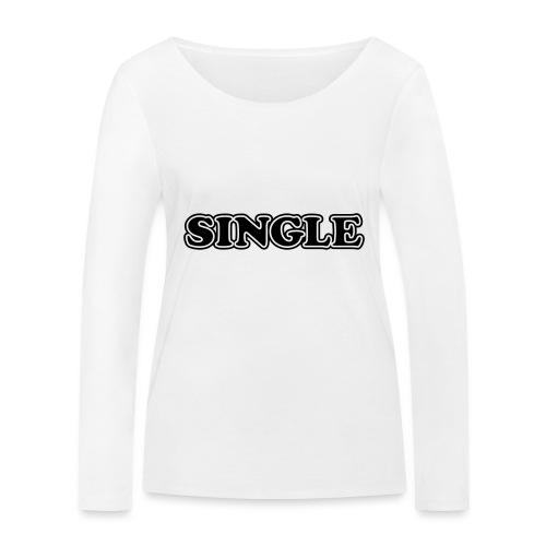 single - Vrouwen bio shirt met lange mouwen van Stanley & Stella
