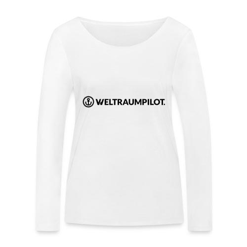 weltraumpilotquer - Frauen Bio-Langarmshirt von Stanley & Stella