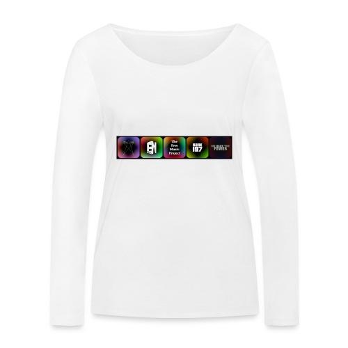 5 Logos - Women's Organic Longsleeve Shirt by Stanley & Stella