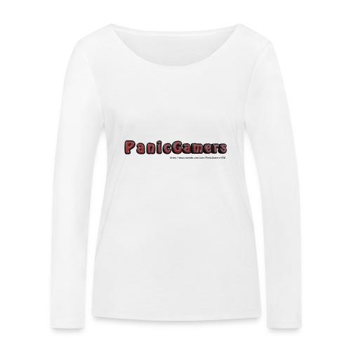 Cover PanicGamers - Maglietta a manica lunga ecologica da donna di Stanley & Stella