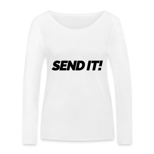 Send it! - Frauen Bio-Langarmshirt von Stanley & Stella