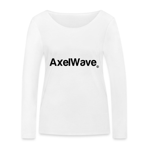 Logo Axelwave copyright - T-shirt manches longues bio Stanley & Stella Femme