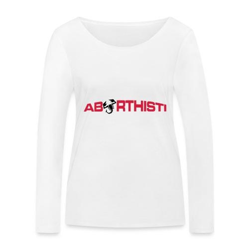 abarthisti no url - Økologisk langermet T-skjorte for kvinner fra Stanley & Stella