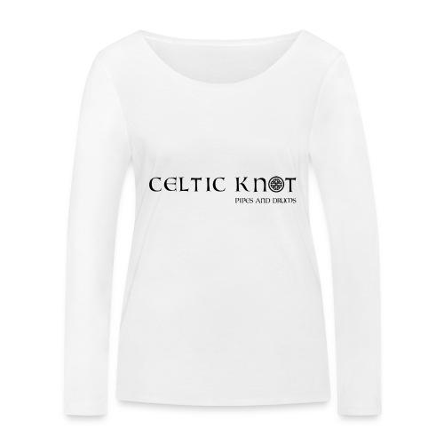 Celtic knot - Maglietta a manica lunga ecologica da donna di Stanley & Stella