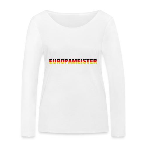 Europameister - Frauen Bio-Langarmshirt von Stanley & Stella